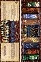 Pulp Heroes - Khan Dynasty Bookmarks