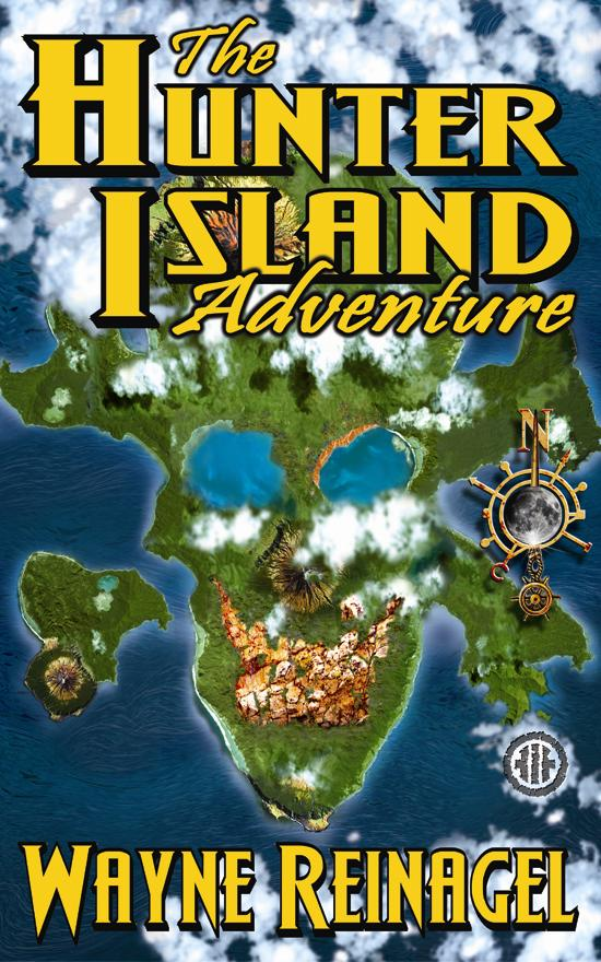 Hunter Island Adventure Novel Cover