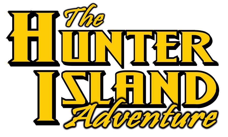 Hunter Island Adventure titleblock