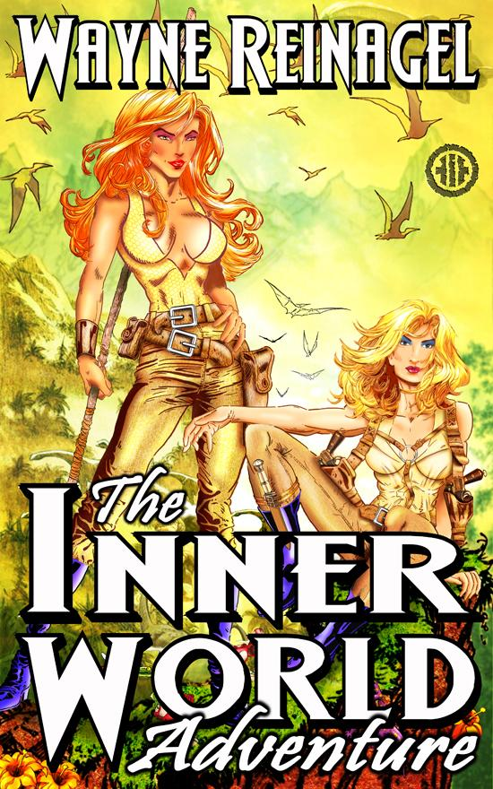 The Inner World Adventure Novel Cover