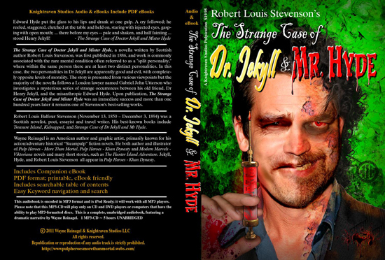 Strange Case of Dr. Jekyll and Mr. Hyde Novel Cover