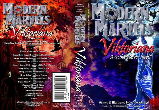 Modern Marvels - Viktoriana Novel Cover