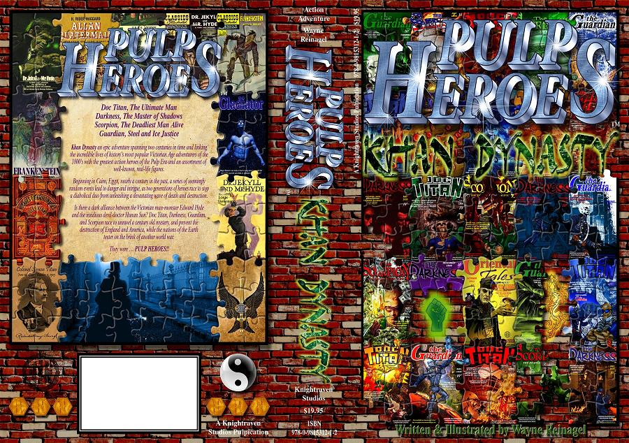 Pulp Heroes - Khan Dynasty Novel Cover
